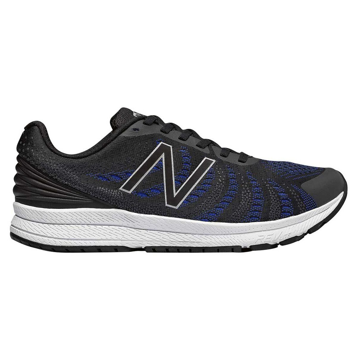 New Balance FuelCore Rush v3 Mens Running Shoes Black Blue US 7