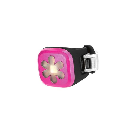 Knog Blinder 1 Flower Rear Bike Light Pink, , rebel_hi-res