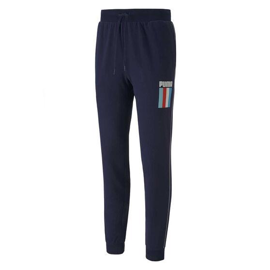 Puma Mens Celebration Sweatpants, Navy, rebel_hi-res