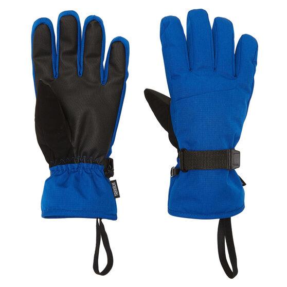 Tahwalhi Mens Chute Ski Gloves, Blue, rebel_hi-res