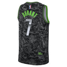 Nike Brooklyn Nets Kevin Durant 2021 Mens MVP Select Jersey Black S, Black, rebel_hi-res