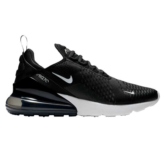 Nike Air Max 270 Womens Casual Shoes, Black/White, rebel_hi-res