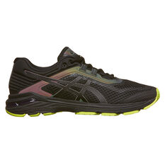 Asics GT 2000 6 Lite Show Mens Running Shoes Black / Black US 7, Black / Black, rebel_hi-res