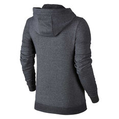 3eaa1a6dd5458 ... Nike Womens Sportswear Fleece Hoodie Grey XS, Grey, rebel_hi-res