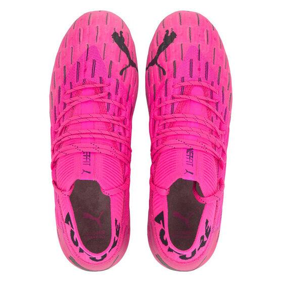 Puma Future 6.1 Netfit Football Boots Pink US Mens 9 / Womens 10.5, Pink, rebel_hi-res