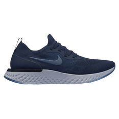 Nike Epic React Flyknit Mens Running Shoes Navy / Blue US 7, Navy / Blue, rebel_hi-res