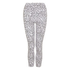 L'urv Womens In My Dreams 7/8 Tights White XS, White, rebel_hi-res