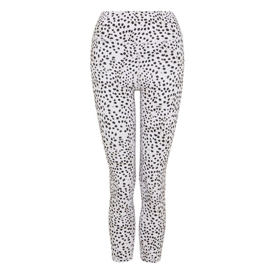 L'urv Womens In My Dreams 7/8 Tights, White, rebel_hi-res