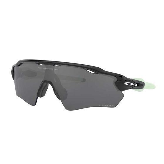 Oakley Radar EV XS Path Kids Sunglasses Polished Black / Prizm Black, Polished Black / Prizm Black, rebel_hi-res