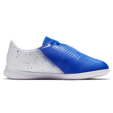Nike Phantom Venom Club Kids Indoor Soccer Shoes White / Black US 10, White / Black, rebel_hi-res