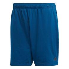 b93f204e9b3c adidas Mens 4KRFT Climacool 6in Shorts Blue S, Blue, rebel hi-res