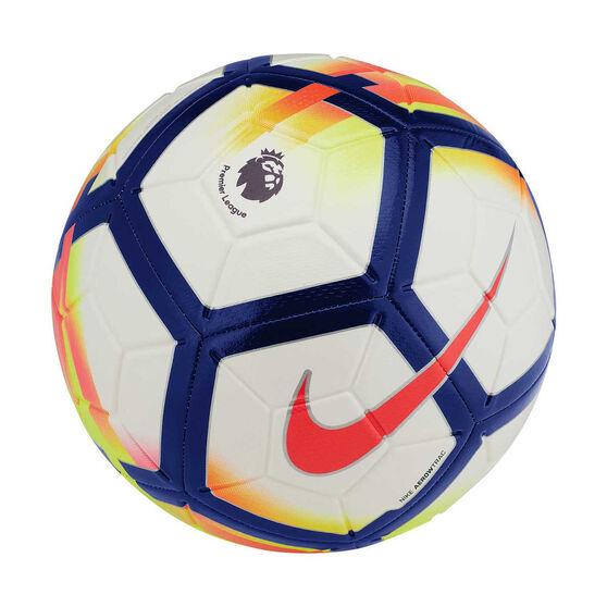 Nike Premier League Strike Soccer Ball White / Red 3, White / Red, rebel_hi-res