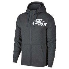 Nike Mens Sportswear Hoodie Grey S adult, Grey, rebel_hi-res