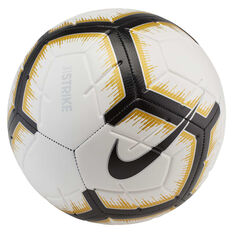 Nike Strike Soccer Ball White / Black 3, White / Black, rebel_hi-res