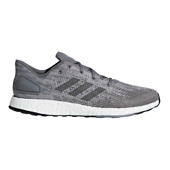 watch c71e0 4ff67 adidas Pureboost DPR Mens Running Shoes Grey  White US 9, Grey  White,