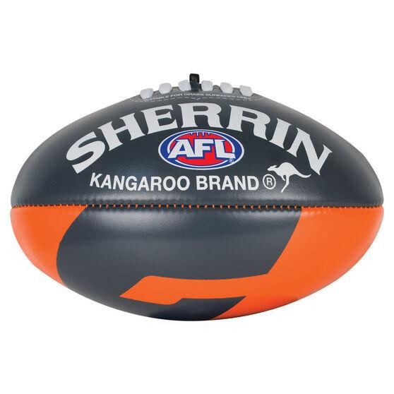Sherrin AFL GWS Giants Softie Ball, , rebel_hi-res