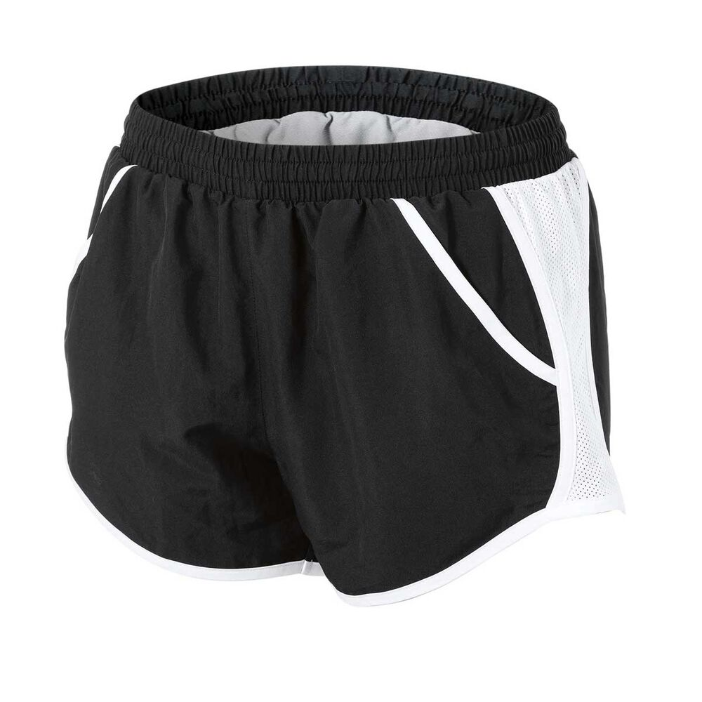 799529d57 Under Armour Womens Fly By Shorts Black / White XS Adult, Black / White,