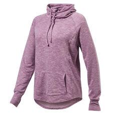 Running Bare Womens Weekend Ready Pullover Purple 8, Purple, rebel_hi-res