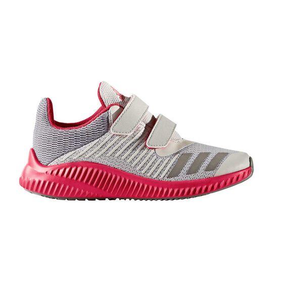 0cae4bd578f adidas Fortarun Girls Running Shoes Grey   Pink US 13