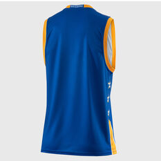 Brisbane Bullets 2018 / 19 Mens Home Jersey Blue S, Blue, rebel_hi-res