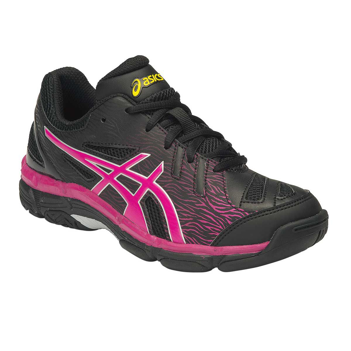 netball girls asics