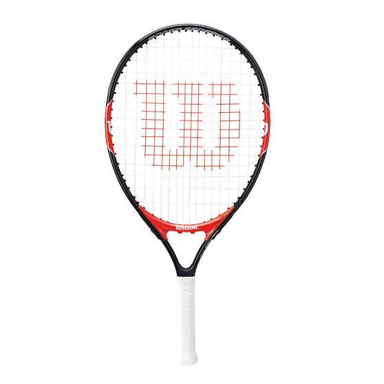 Wilson Federer 21in Junior Tennis Racquet Black / Red 21in, , rebel_hi-res