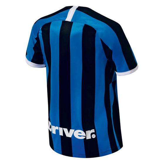 Inter Milan 2019/20 Mens Home Jersey, Black / Blue, rebel_hi-res