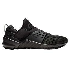 Nike Free Metcon 2 Mens Training Shoes Black US 7, Black, rebel_hi-res