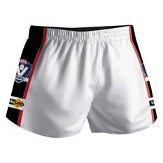 Cougar Sportswear V.C.F.L Training Shorts White M, White, rebel_hi-res