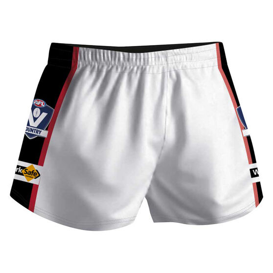 Cougar Sportswear V.C.F.L Training Shorts, White, rebel_hi-res