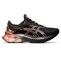 Asics Novablast Platinum Womens Running Shoes Black US 6, Black, rebel_hi-res