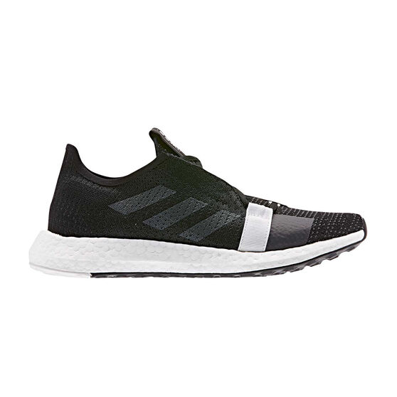 adidas Senseboost Go Womens Running Shoes, Black / Grey, rebel_hi-res