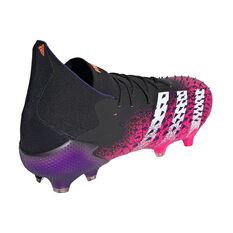 adidas Predator Freak .1 Football Boots, Black, rebel_hi-res