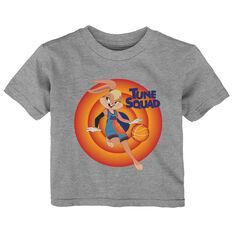 Space Jam: A New Legacy Lola Bunny Name & Number Toddlers Tee Grey 2, Grey, rebel_hi-res