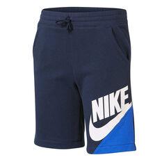 Nike Boys Amplify Shorts Navy 4, Navy, rebel_hi-res