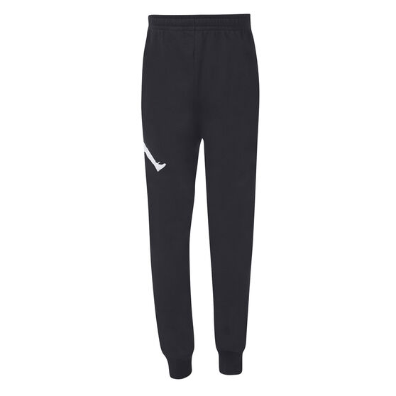Nike Boys Jumpman Logo FT Pants, Black, rebel_hi-res