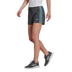 adidas Essentials Slim 3-Stripes Shorts Grey XS, Grey, rebel_hi-res