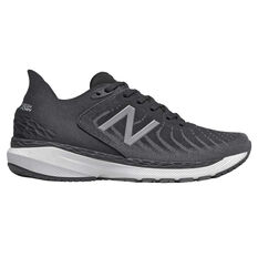 New Balance 860 v11 2E Mens Running Shoes Black/White US 7, Black/White, rebel_hi-res
