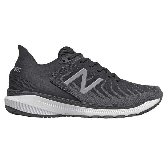 New Balance 860 v11 2E Mens Running Shoes, Black/White, rebel_hi-res