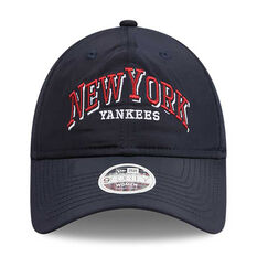 New York Yankees Womens New Era 9FORTY Word Styler Cap, , rebel_hi-res
