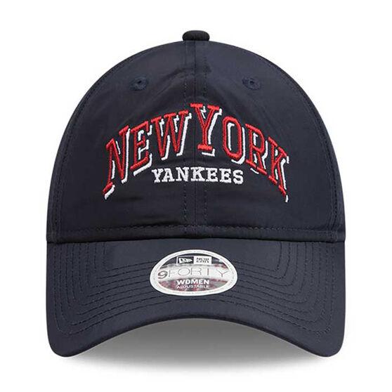 New York Yankees Womens New Era 9FORTY Word Styler Cap, , rebel_hi-res