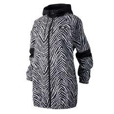 New Balance Womens Athletics Animal Print Jacket Black XS, , rebel_hi-res