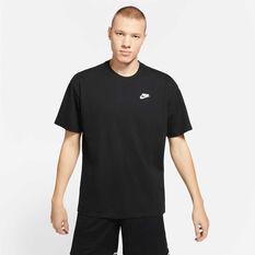Nike Mens Dri-FIT Giannis Freak Swoosh Basketball Tee Black S, Black, rebel_hi-res