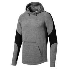Puma Mens Evostripe Hoodie Grey S, Grey, rebel_hi-res