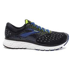 Brooks Glycerin 16 Mens Running Shoes Black / Lime US 8, Black / Lime, rebel_hi-res