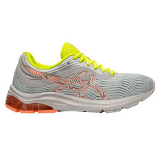 Asics GEL Pulse 11 Liteshow 2.0 Womens Running Shoes Grey / Coral US 6, Grey / Coral, rebel_hi-res