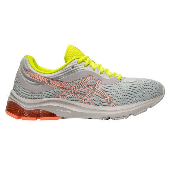 Asics GEL Pulse 11 Liteshow 2.0 Womens Running Shoes, Grey / Coral, rebel_hi-res