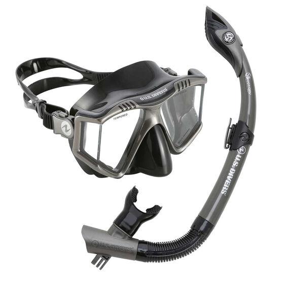 Aqua Lung Sport Adult Prism Snorkel Combo, , rebel_hi-res