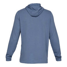 1fd28c1298a ... Under Armour Mens Sportstyle Terry Hoodie Blue XS, Blue, rebel_hi-res