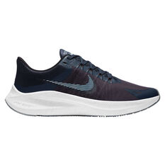 Nike Winflo 8 Mens Running Shoes Blue/Red US 7, Blue/Red, rebel_hi-res